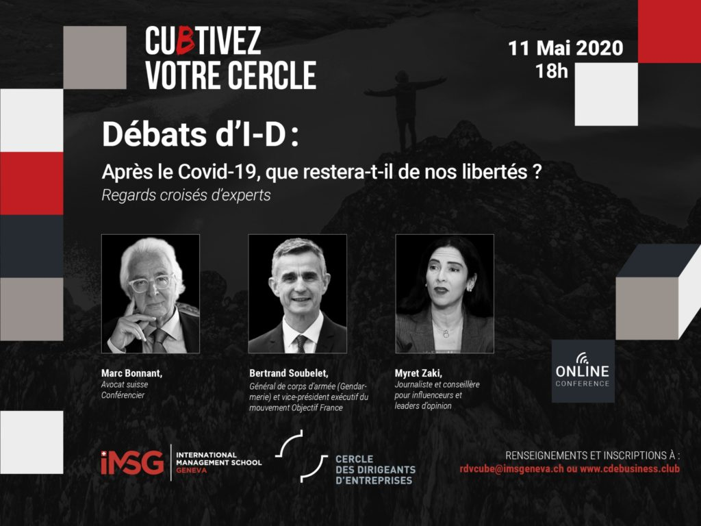 Débats d'I-D: After COVID-19, what will be left of our freedoms?