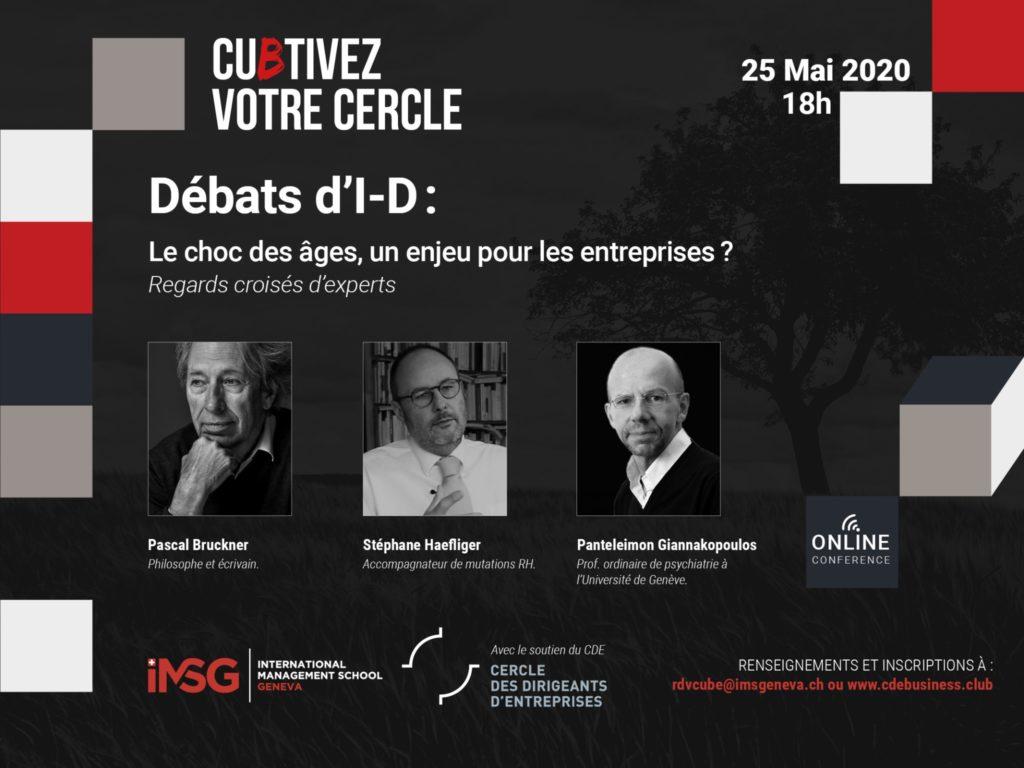 Débats d'I-D : The clash of ages, a challenge for companies?